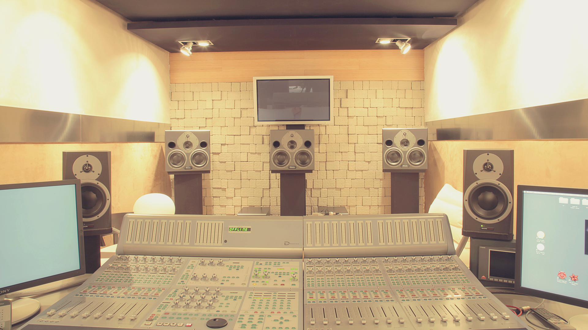One of ours Pro Tools studios.